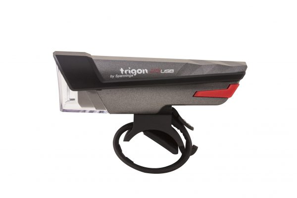 Trigon 25 Usb headlamp with handlebar bracket