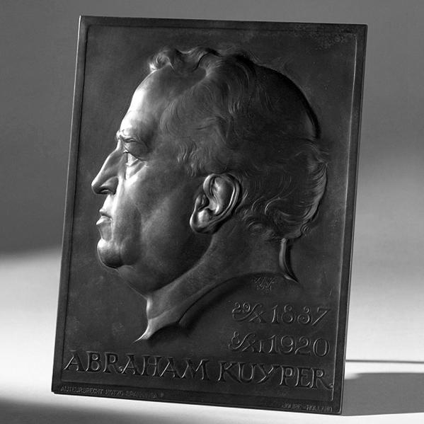 1918 plaquette Abraham Kuyper