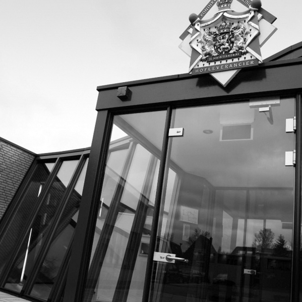 2018 Spanninga Joure office entrance + Royal House logo