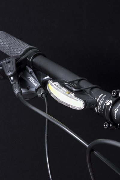 Arco Front headlamp on handlebar with Bh 07 o-ring bracket