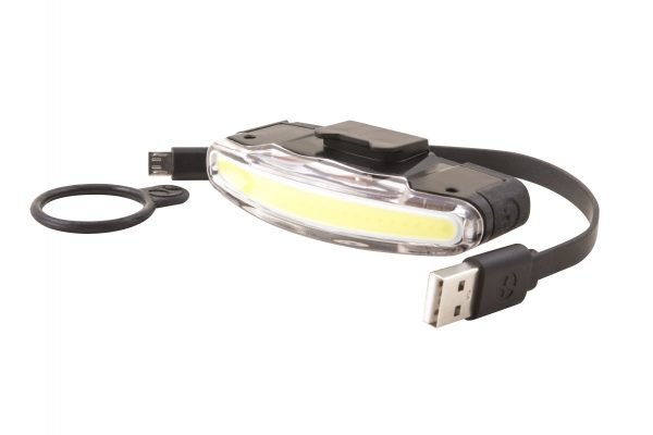 Arco Front headlamp with Usb cable and o-ring bracket
