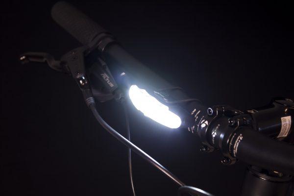 Arco Front headlamp on handlebar