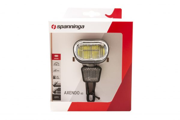 Axendo 60 XDOc headlamp package front