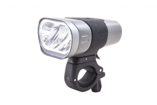 Axendo 60 USB headlamp with handlebar bracket