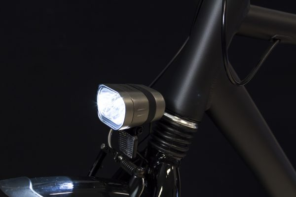 Axendo 80 headlamp on front fork