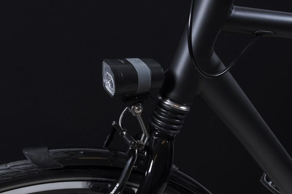 Axendo 40 Usb headlamp on front fork with Br 140 bracket
