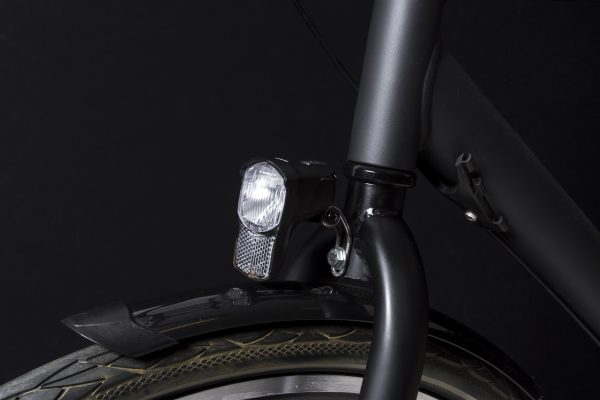 Illico 2 headlamp on front fork with Br 192 bracket