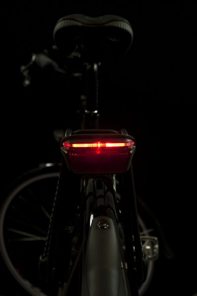 Brasa rearlight on carrier