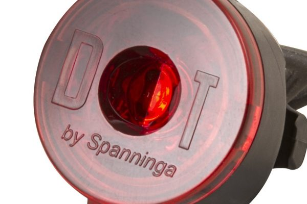 Dot Rear rearlight close up
