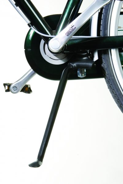 Easystand kickstand black on bicycle