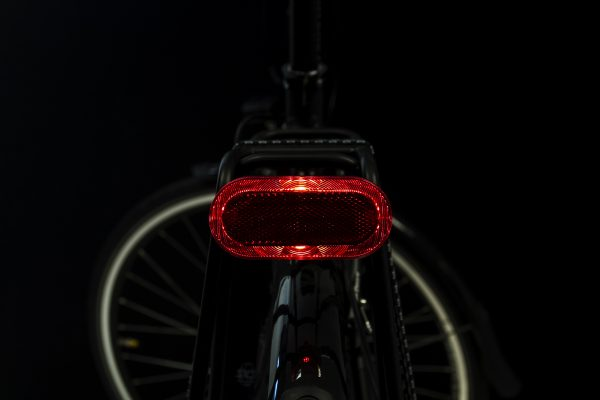 Elips rearlight on carrier