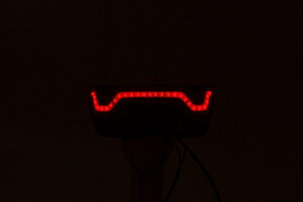 Flexio rearlight on carrier light line