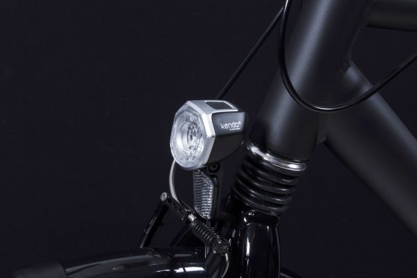 Kendo+ headlamp on front fork with Rw 11 reflector