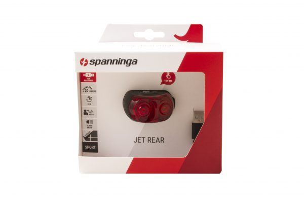 Jet Rear rearlight package front