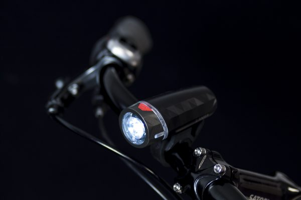 Lanza headlamp on handlebar