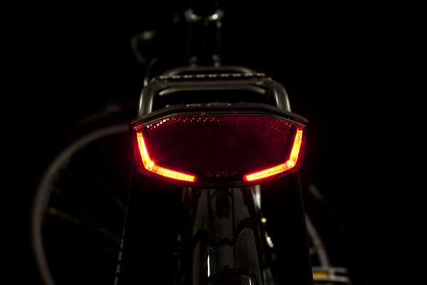 Lineo rearlight on carrier
