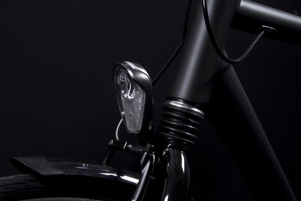 Nomad headlamp on front fork off