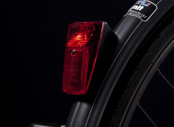 Nr 15 rearlight on mudguard