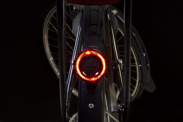 O-guard rearlight on mudguard