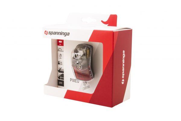 Pixeo XB rearlight package side