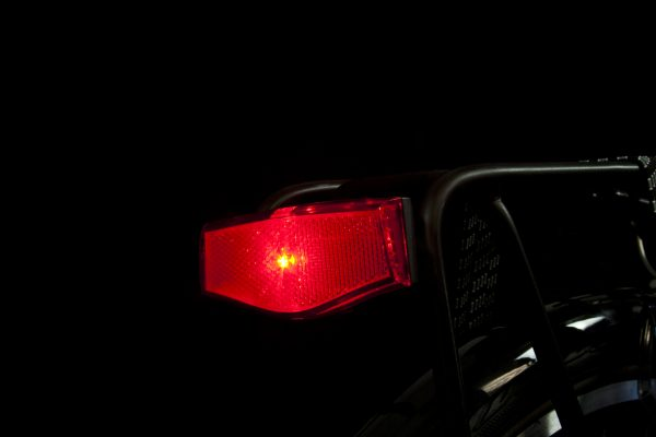 Plateo rearlight on carrier