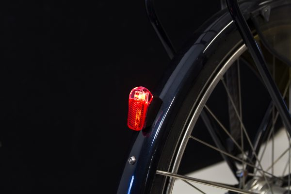 Presto-guard rearlight on mudguard