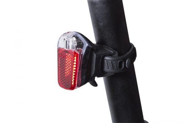 Pyro rearlight on seat post