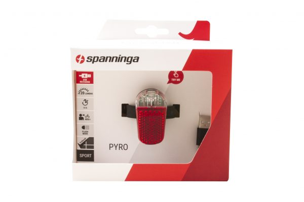 Pyro Usb flash rearlight package front