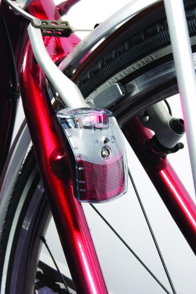 Pixeo rearlight on brakebolt with Br 01 bracket