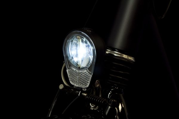 Roxeo headlamp on front fork