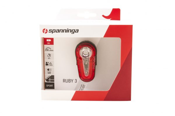 Ruby 3 flash rearlight package front