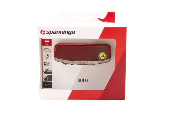 Solo Xb rearlight package front