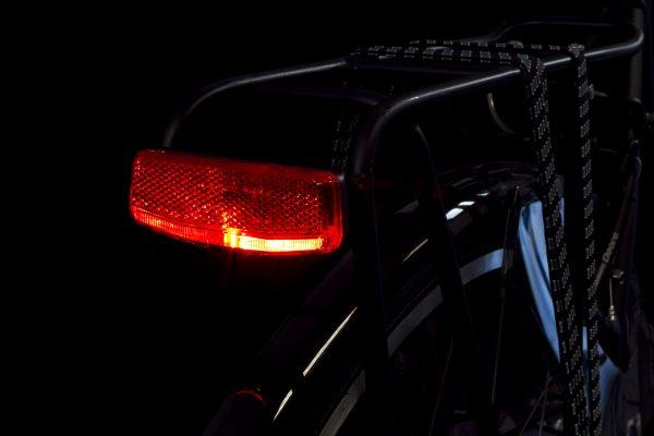 Brompton Rear Light Spanninga Solo Pannier Rack Battery Light