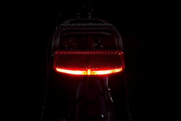 Solo rearlight on carrier