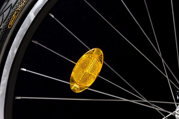 Ra 02 reflector in spoke