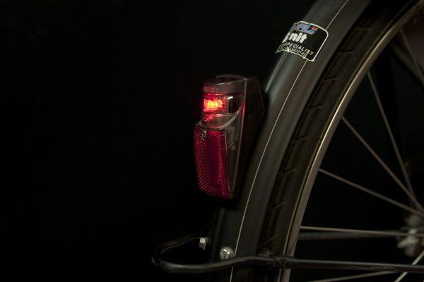 Spx rearlight on mudguard