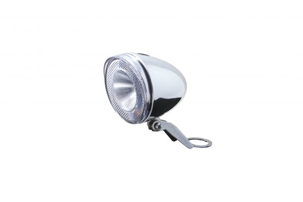 Swingo Xb chrome headlamp with headset bracket