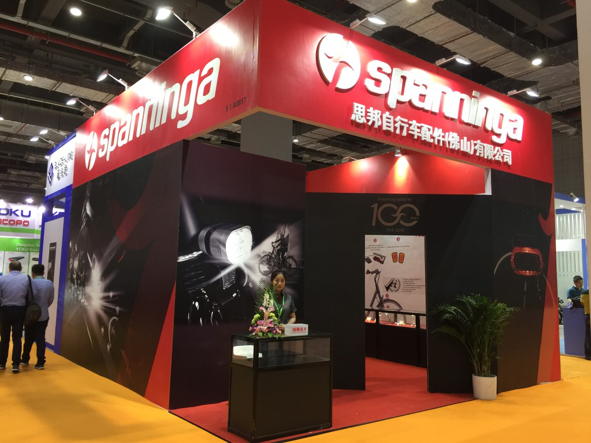 Spanninga Bicycle Lights Shanghai Cycle Show Non classé