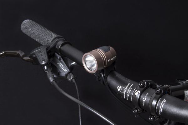 Thor 800 headlamp on handlebar