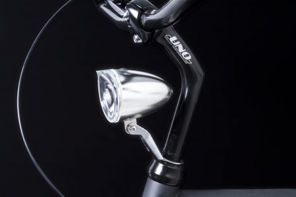 Trendo Xb chrome headlamp on headset