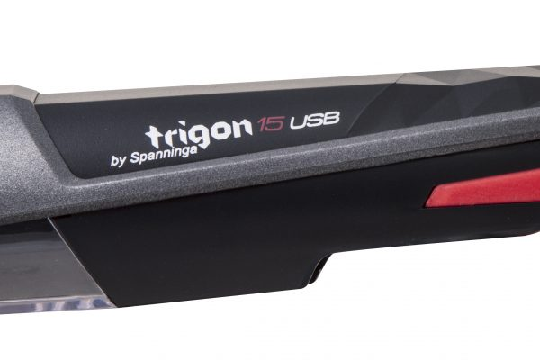 Trigon 15 Usb headlamp detail