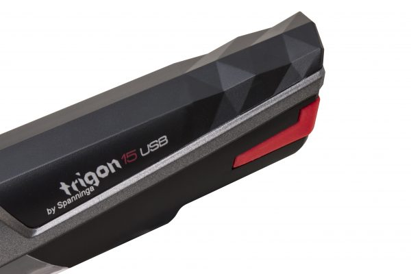 Trigon 15 USB headlamp rear