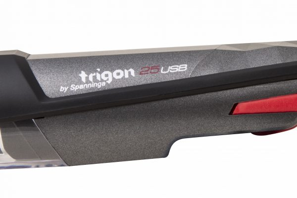 Trigon 25 USB headlamp detail