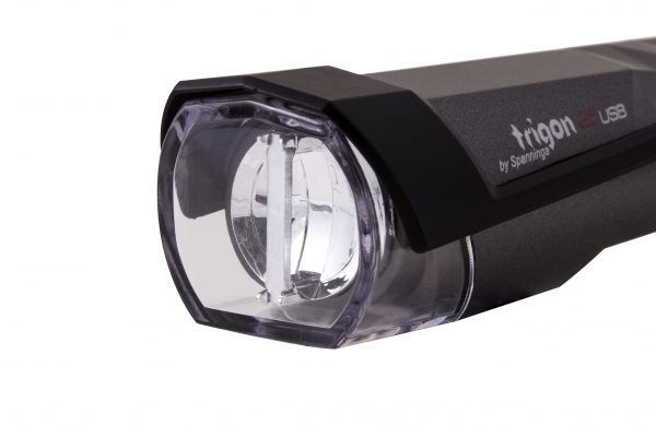 Trigon 25 Usb headlamp close up