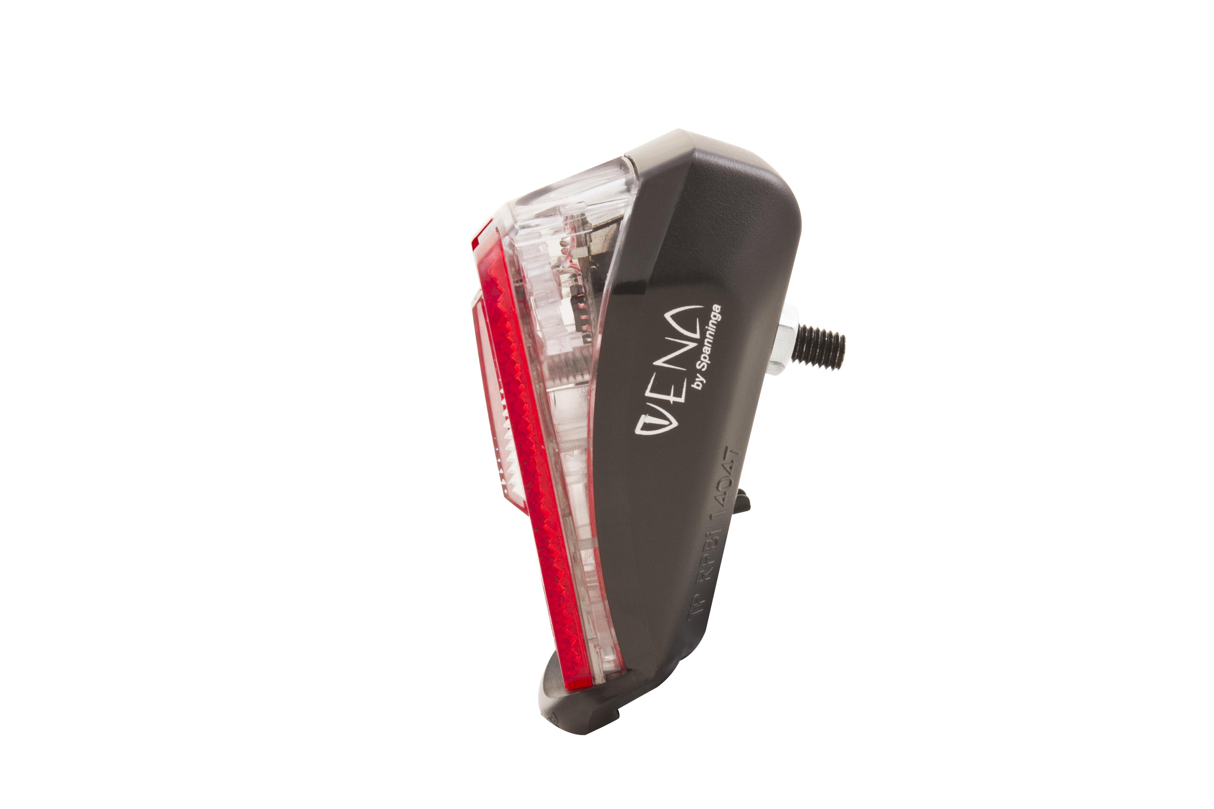 "SPANNINGA Batterie-LED-Rücklicht /""Vena Xb/""  Schutzblechbefestigung"