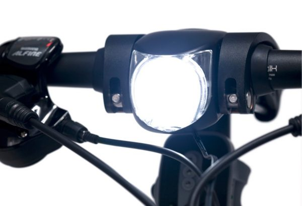 Dahon integrated headlamp