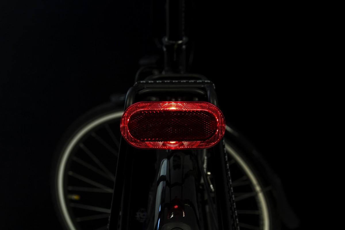 Elips rearlight on carrier