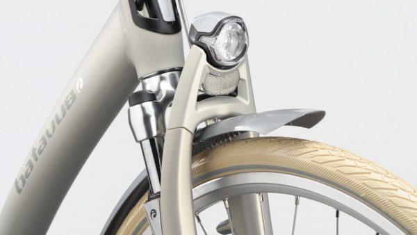 Batavus integrated headlamp