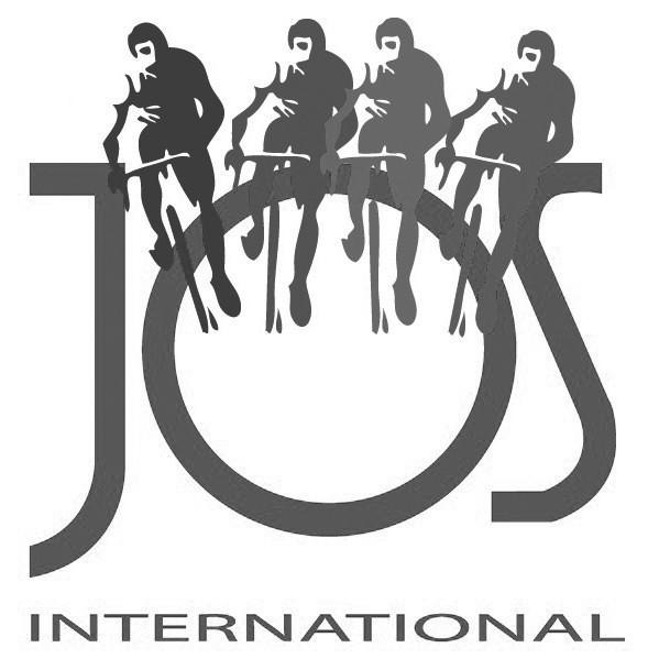 1992 Jos International logo black