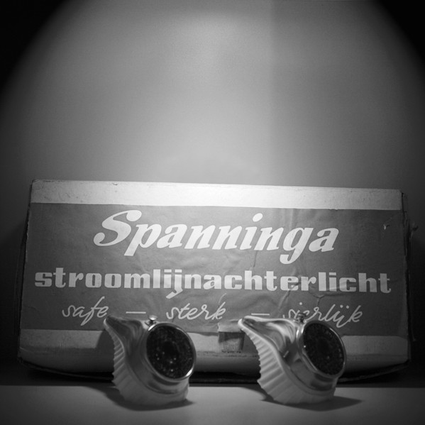 1959 old Spanninga streamline rearlights